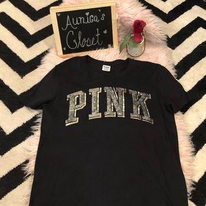PINK VS BLACK TEE 🖤